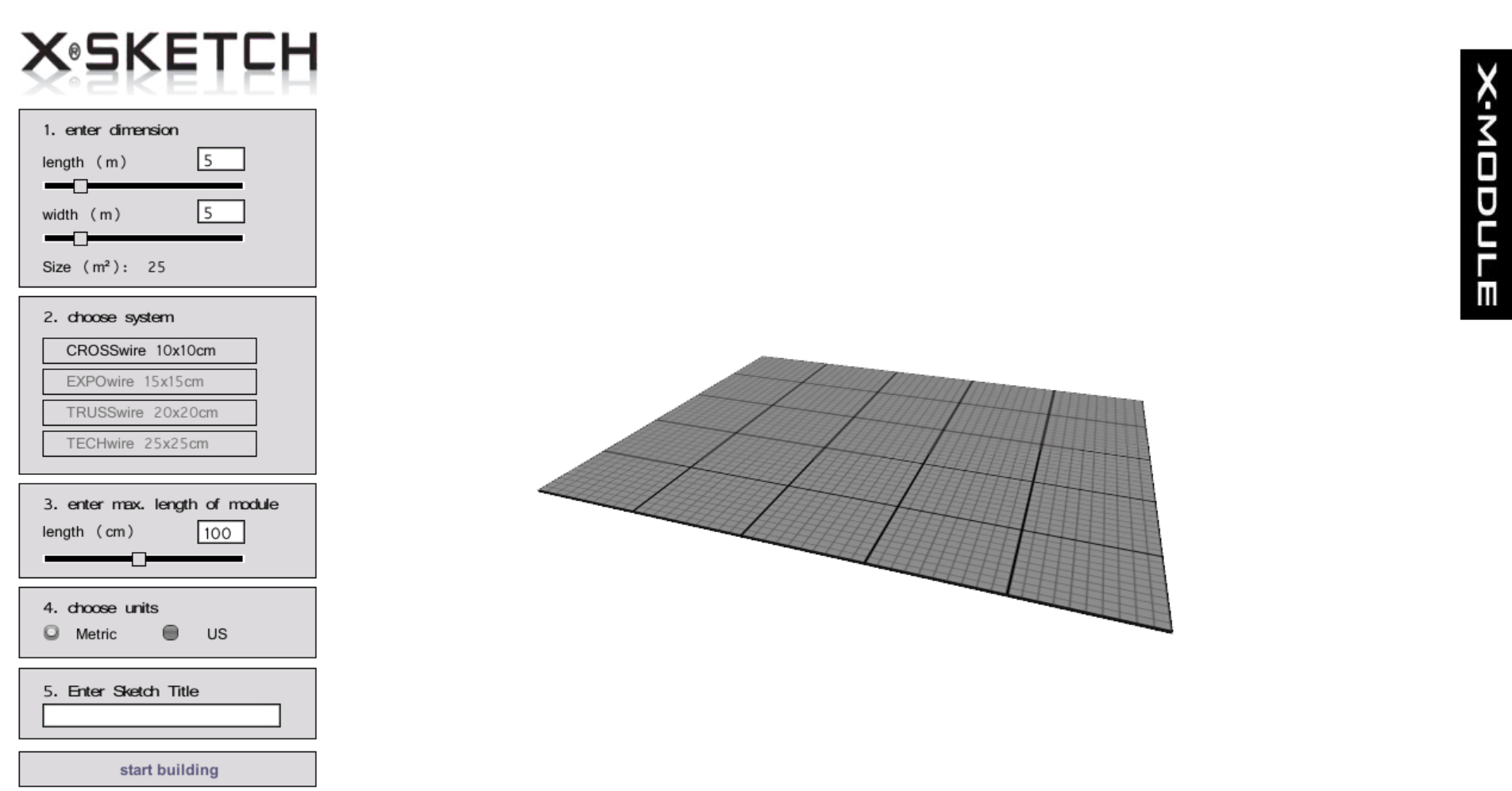 X-Sketch – nemokama stendų projektavimo programa